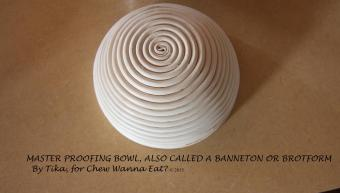 Banneton or Brotform