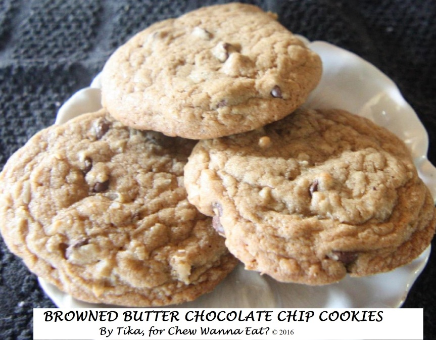 BROWNED BUTTER CHOCOLATE CHIPCOOKIES