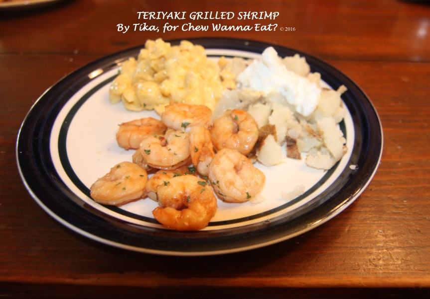 Teriyaki Shrimp (3)