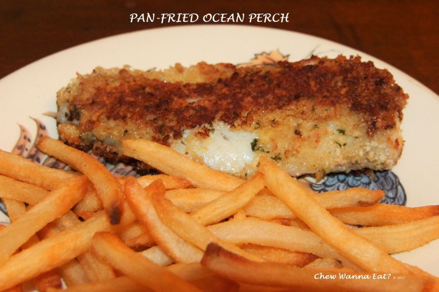 Pan-Fried Ocean Perch