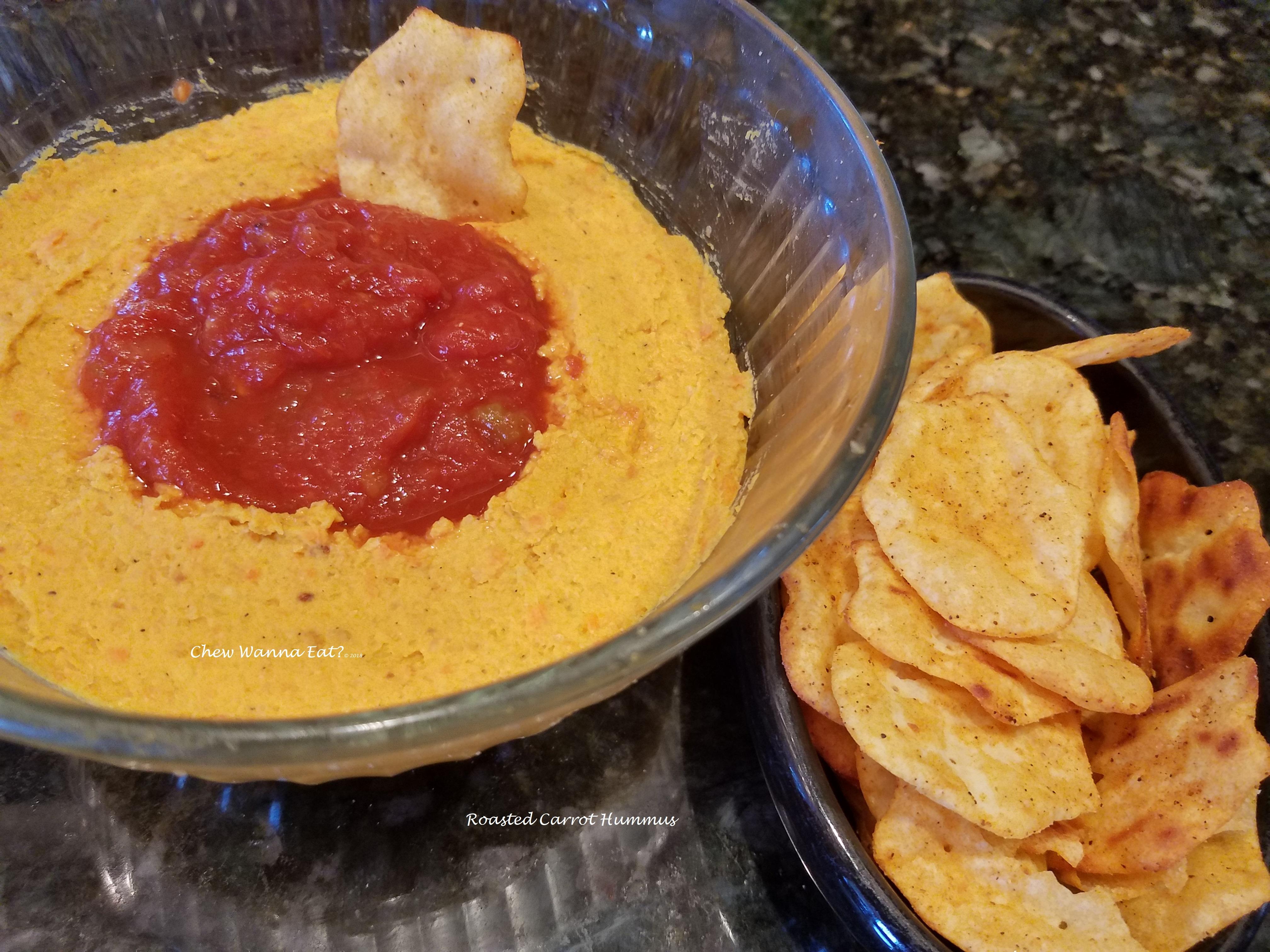 Roasted Carrot Hummus (4)
