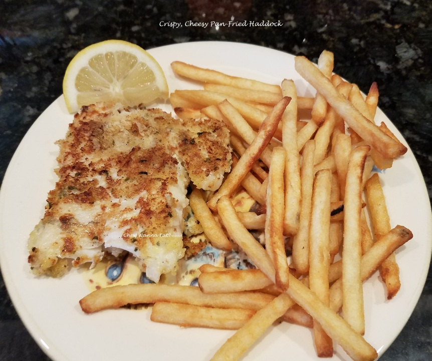 Crispy, Cheesy Pan-Fried Haddock (4) - Copy